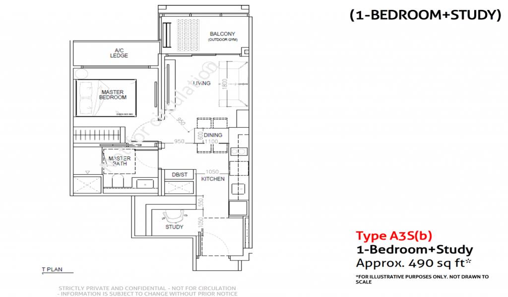 Irwell Hill Residences Floor Plan 6100 8187 Singapore